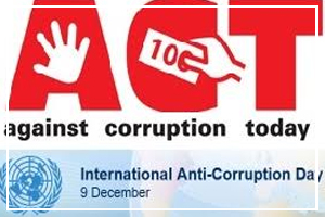 December 9 - Anti Corruption Day