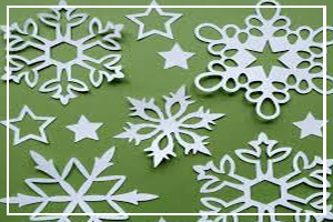 December 27 - Make Cut Out Snowflakes Day