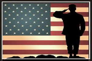 Thank a Soldier Week - December 18 - 24 (week before or including Christmas)