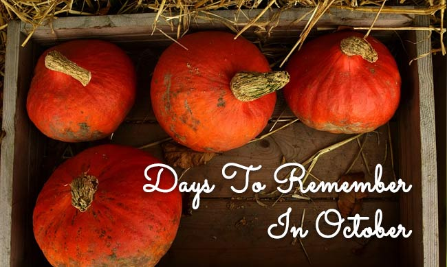Days to Remember in September